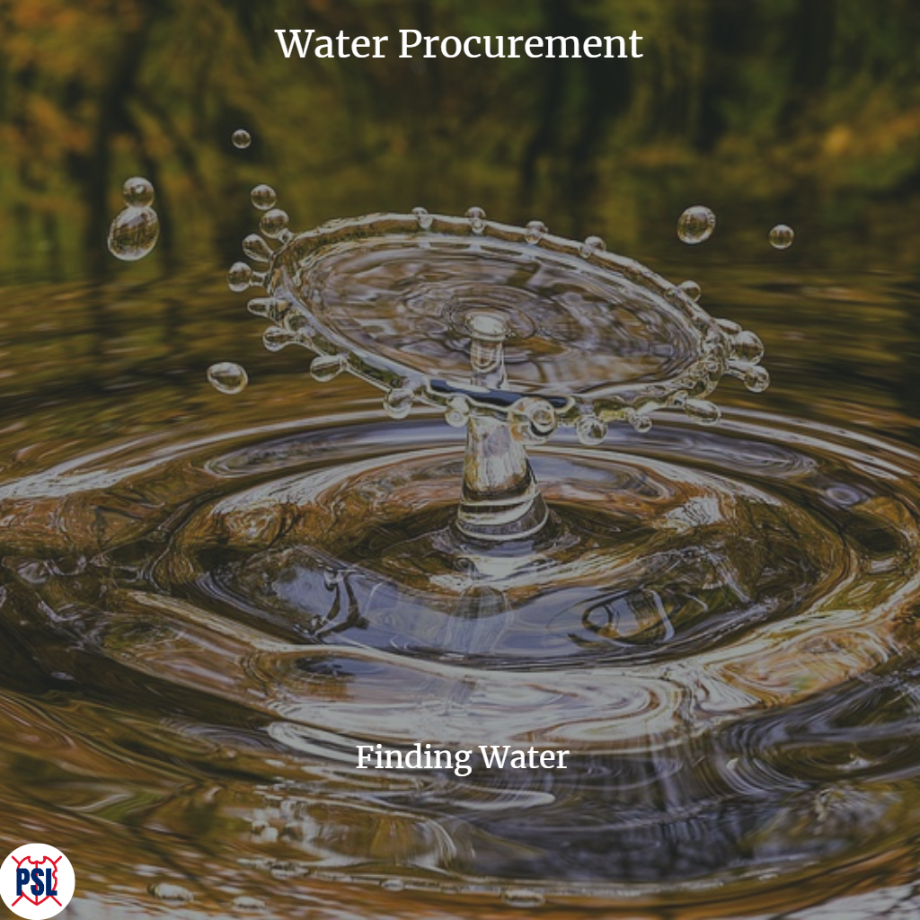 Water Procurement Finding Water