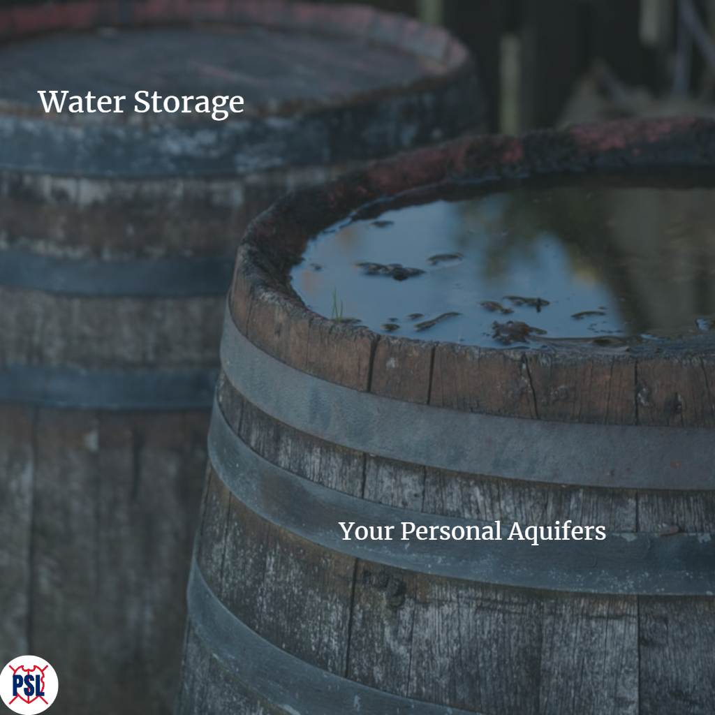 Water Storage Your Personal Aquifers